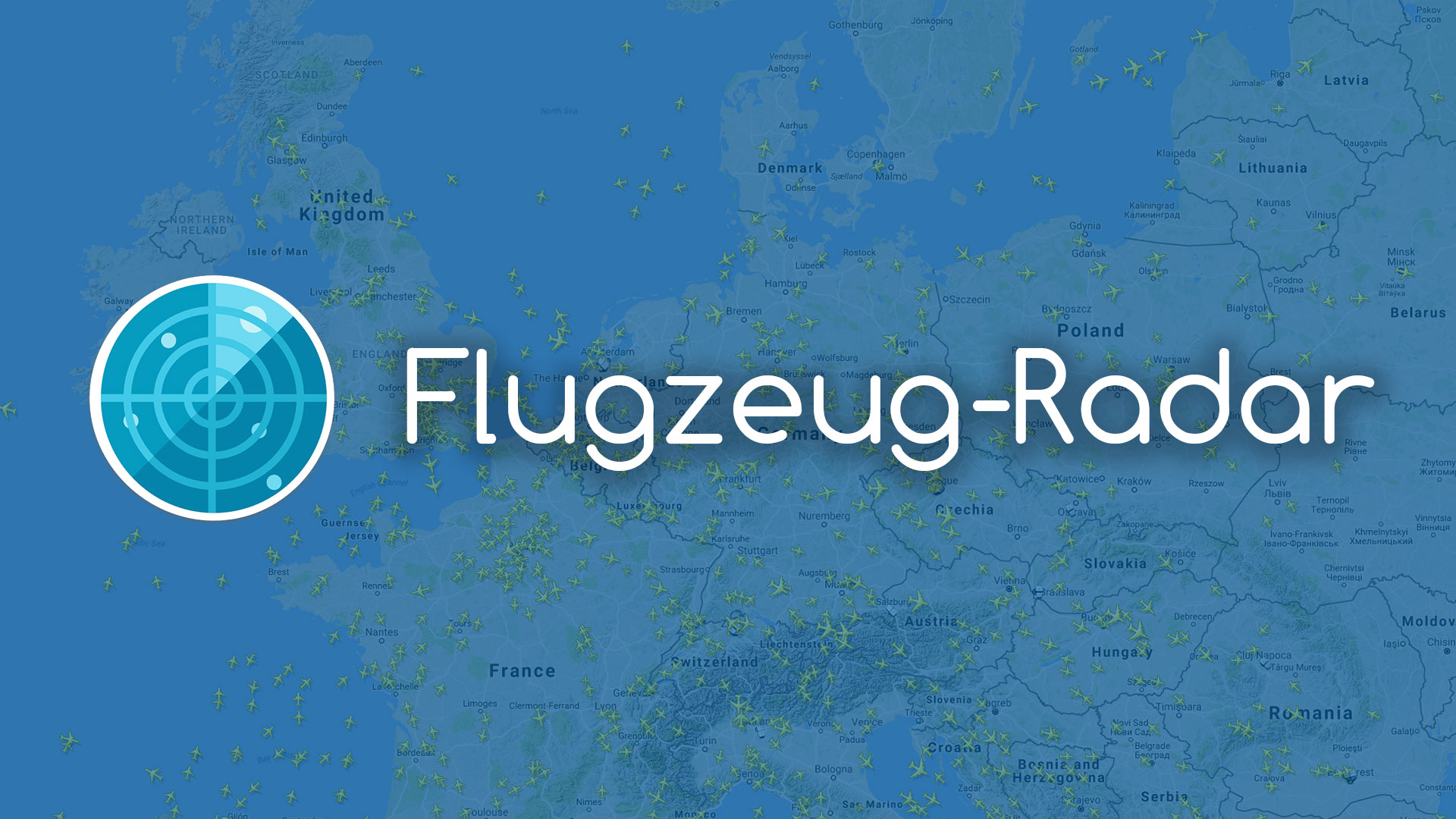 ᐅ FLUGZEUG-RADAR.de ✈ Jetzt kostenlos und live deinen Flug verfolgen ✈